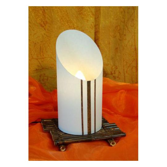 tischlampe okikuda tisch stehlampen asiatische. Black Bedroom Furniture Sets. Home Design Ideas
