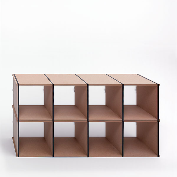 tojo regal aktenpack tojo designer m bel m bel wohnen japanwelt. Black Bedroom Furniture Sets. Home Design Ideas