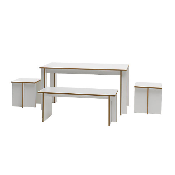 tojo tischgruppe set tojo designer m bel m bel wohnen japanwelt. Black Bedroom Furniture Sets. Home Design Ideas