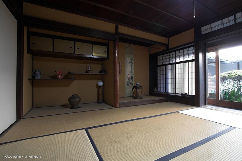 japanischer Raum im Shoin-Stil