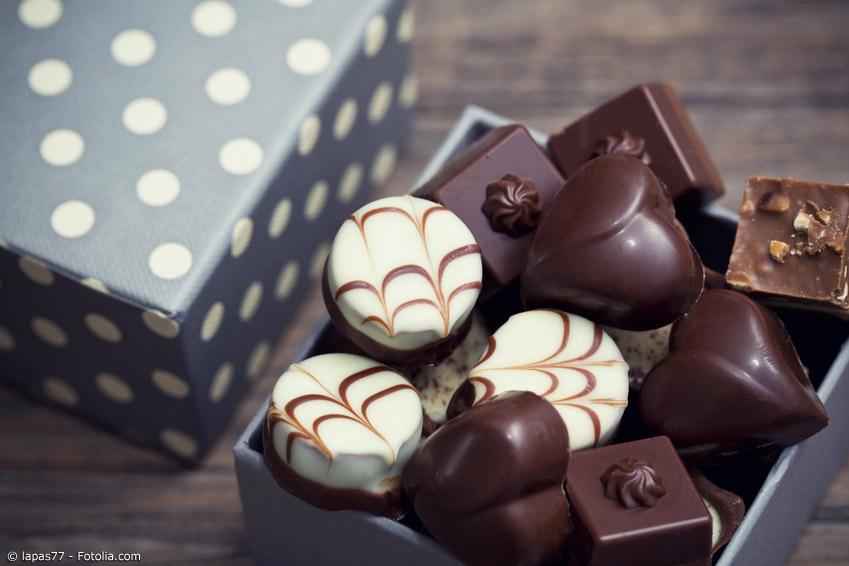 Selbstgemachte Schokolade wird am Valentinstag in Japan von Frauen verschenkt. So zeigen sie den Männern ihre Zuneigung.
