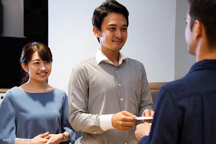 Japan Visitenkarte Verhalten