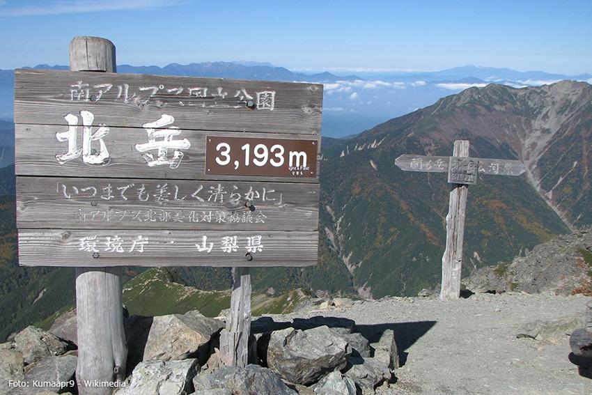 Aufstieg zum Kita-dake - Wandern in den japanischen Alpen