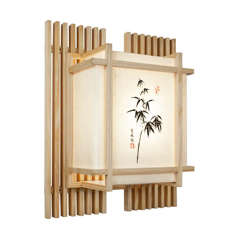 wandlampe yamagata wandlampen asiatische lampen. Black Bedroom Furniture Sets. Home Design Ideas