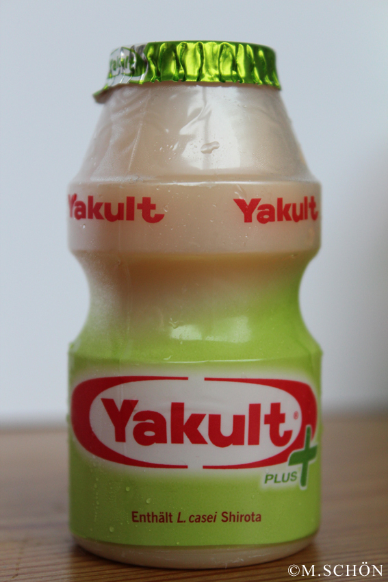 Yakult - der probiotische Drink wurde bereits 1935 in Japan erfunden